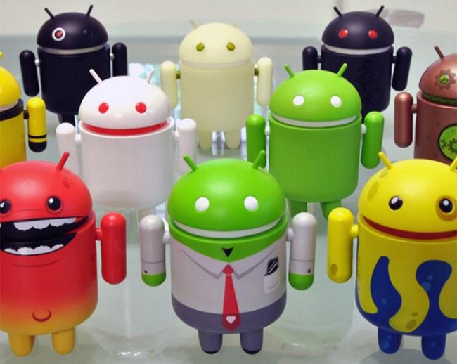 Hệ điều hành Android có mã nguồn mở và biểu tượng chú robot này cũng vậy