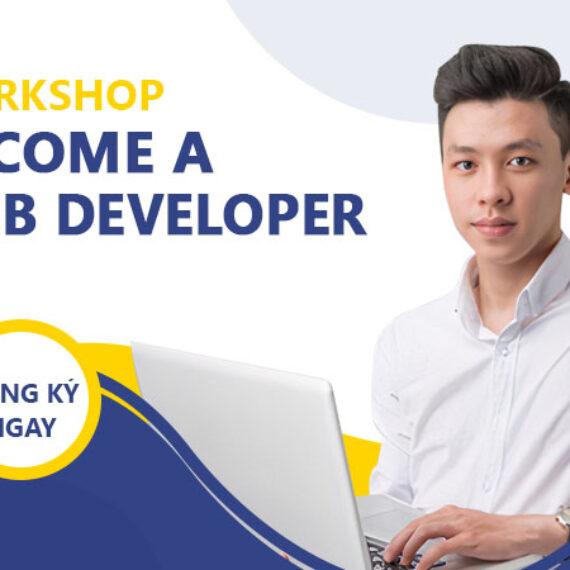 """Workshop: """"Con đường trở thành nhà thiết kế website chuyên nghiệp"""""""